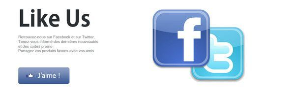 Page Facebook - Like us !