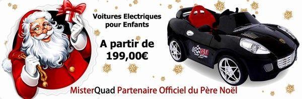 Mister Quad : Partenaire officiel du Père Noël